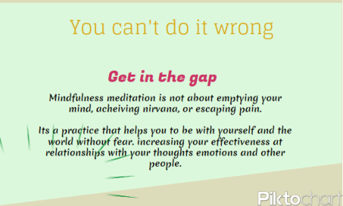 Mindfulness - You Can't Do it Wrong