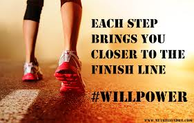 Each Step Brings you Closer to the Finish Line