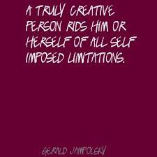 Creative and Unlimiting