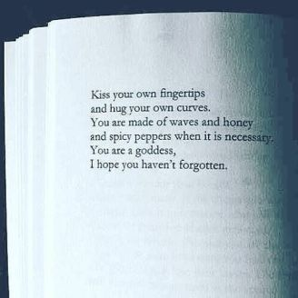 Kiss Your Own fingertips